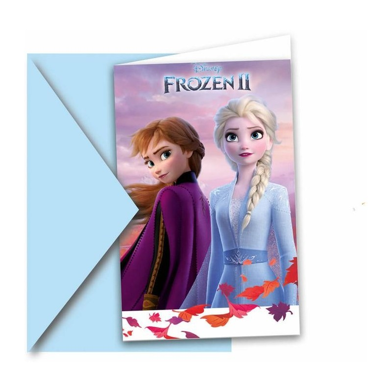 carte, invitation, reine des neiges,