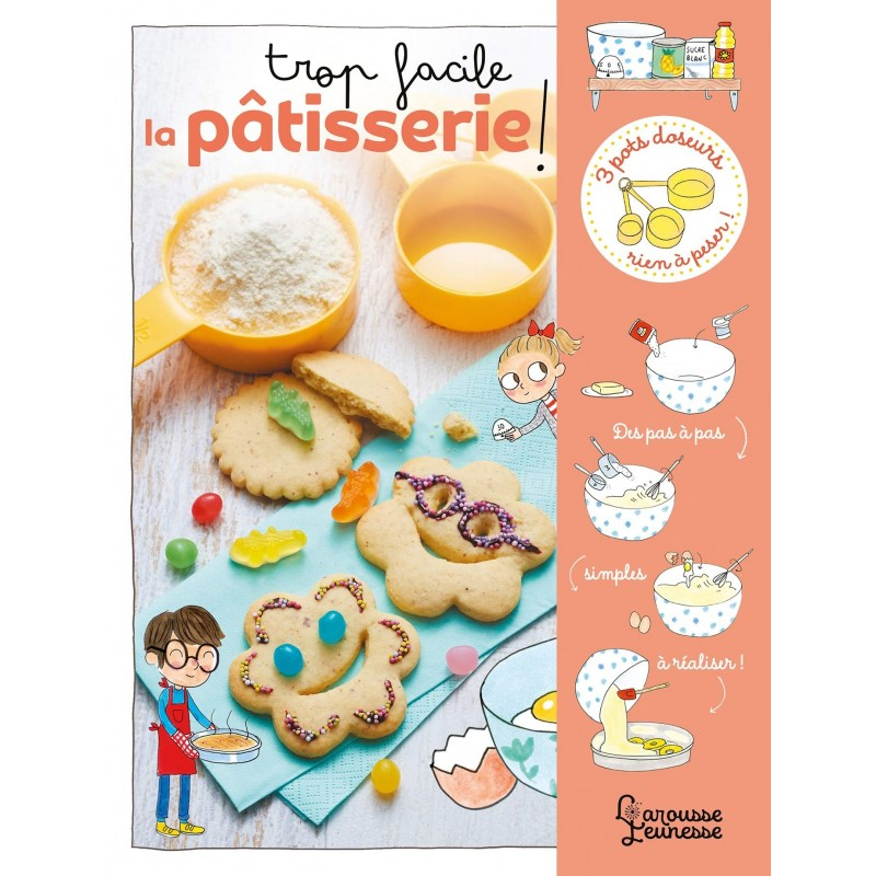 book, trop facile la pâtisserie, children