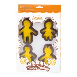 emporte-pièce, happy family, famille, biscuit