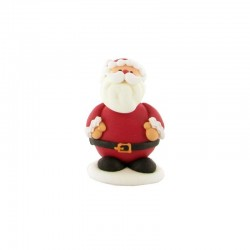 "Edible decor ""Santa Claus"", sugar, christmas"