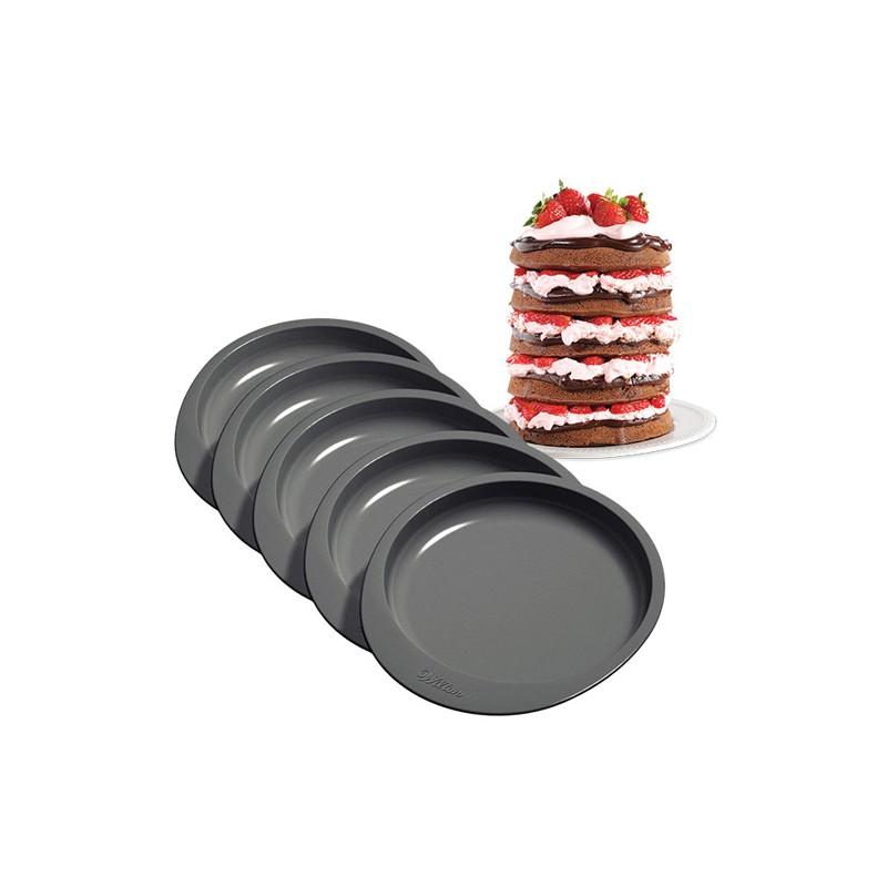 Moule Ensemble de Moule à Gâteaux -15cm- Set(x5)