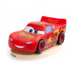 figurine, cars, Lightning mcqueen, disney, PVC, decoration
