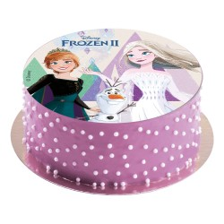 edible disc, decoration, cake, Frozen 2