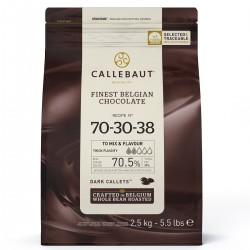 galets de chocolat, noir, callebaut