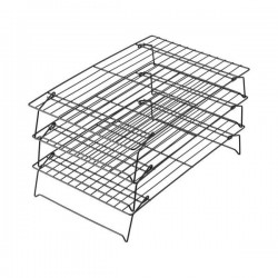 Rectangular cooling rack - 3 pcs