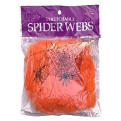 Toile d'araignée extensible Orange