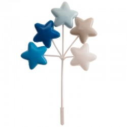 "Ballonsset ""Blaue Sterne"""