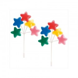 "Balloons set ""colorful stars"""