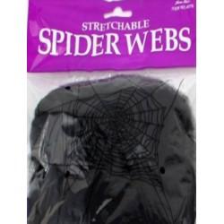 Toile d'araignée extensible Noir