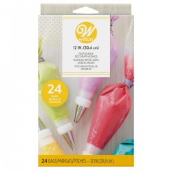 """Disposable Decorating Bags"" - 30cm - 24pc"