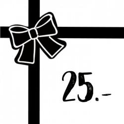 Geschenkgutschein 25chf