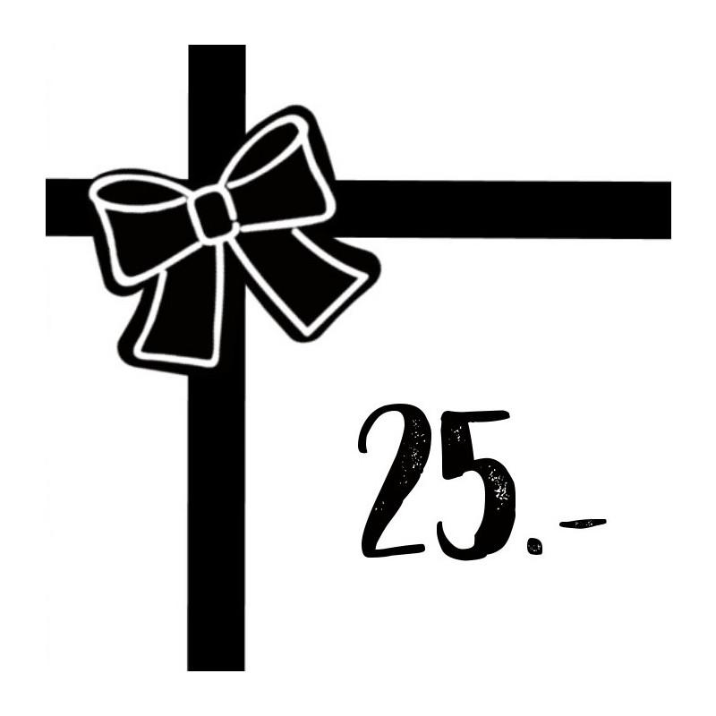 Gift voucher 25chf