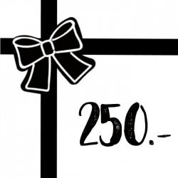 Geschenkgutschein 250chf