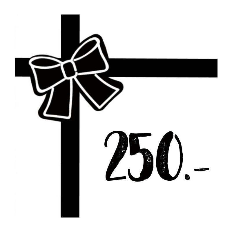 Gift voucher 250chf