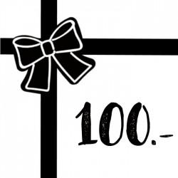 Geschenkgutschein 100chf
