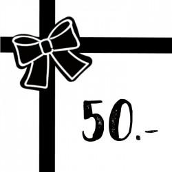 Geschenkgutschein 50chf