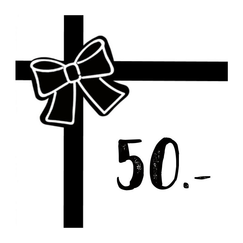 Gift voucher 50chf