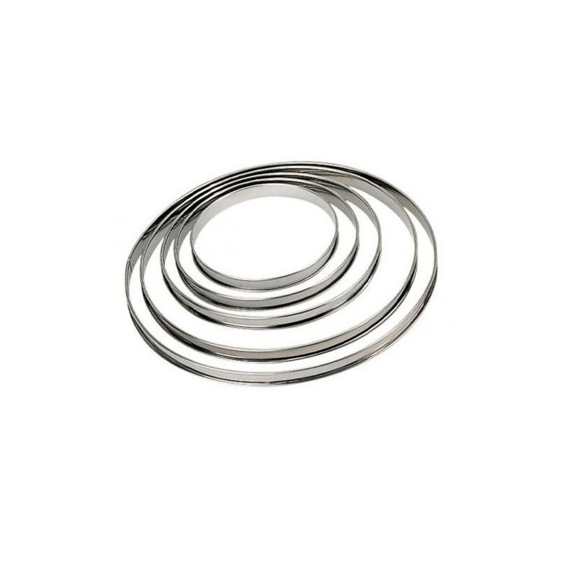 Cercles à tartes - diamètre à choix