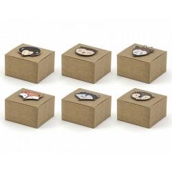 Boîtes kraft Le monde de la forêt en carton