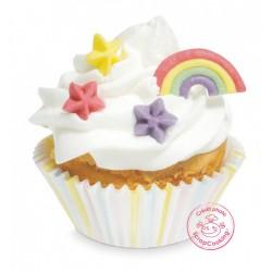 "Sugar decos ""Rainbow ans stars"""