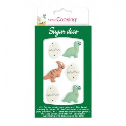 "Sugar decos ""Dinosaurs and eggs"""