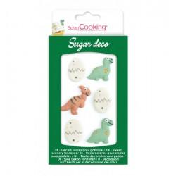 "Sugar decos ""Dinosaurs and eggs"""