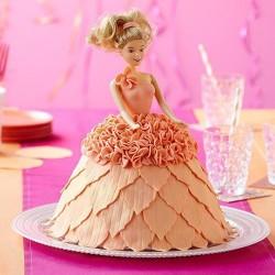 Moule avec poupée princesse