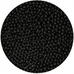 """Perles en sucre """"Noir brillant"""" 80g"""