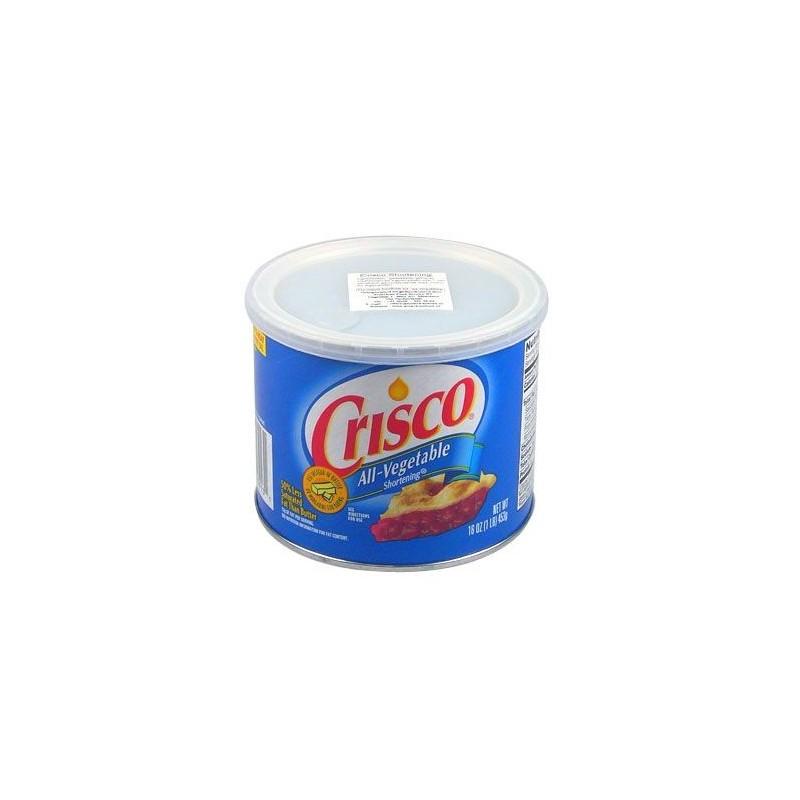 Crisco - Graisse végétale en pot - 450 gr