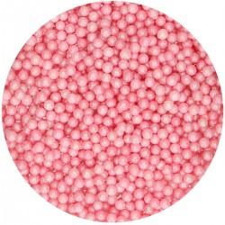 """Perles en sucre """"Nacré Rose"""" 80g"""