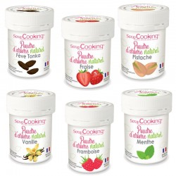 Natural flavors powders