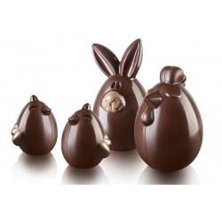 "Chocolate Mold ""Lady Cocca"""