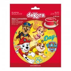 """Deco disc """"Paw Patrol"""" edible"""