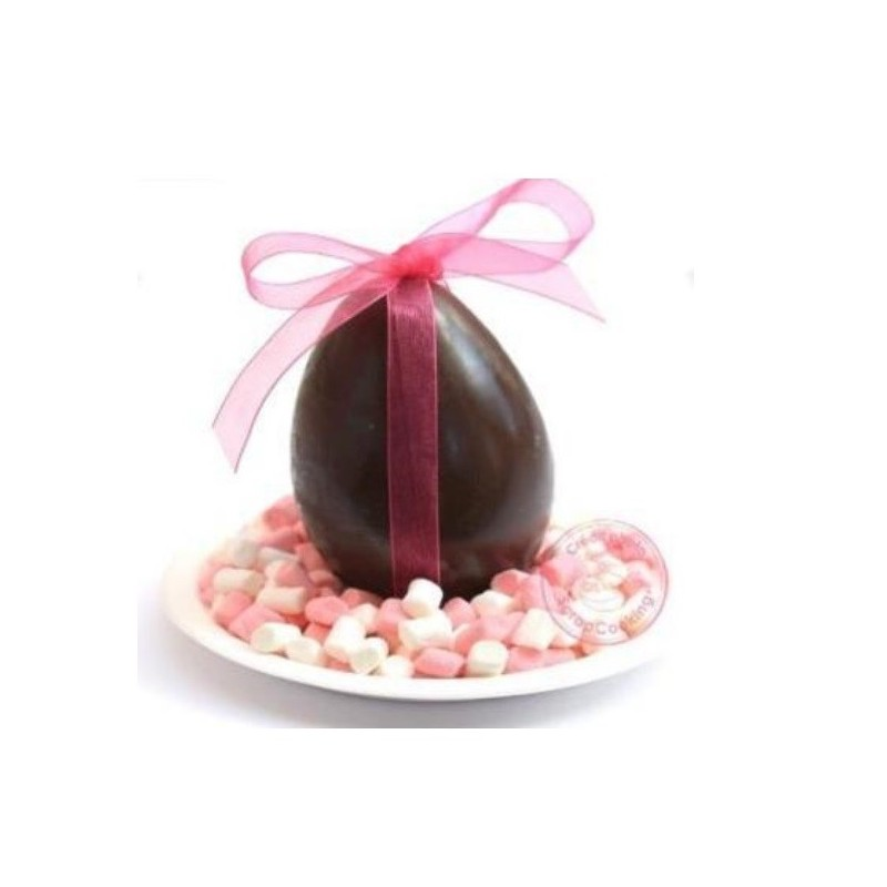 Mold for chocolate egg in PVC