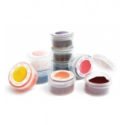 Set of 9 coloring powders