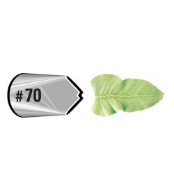 Douille #070 Feuille (Leaf Carded)