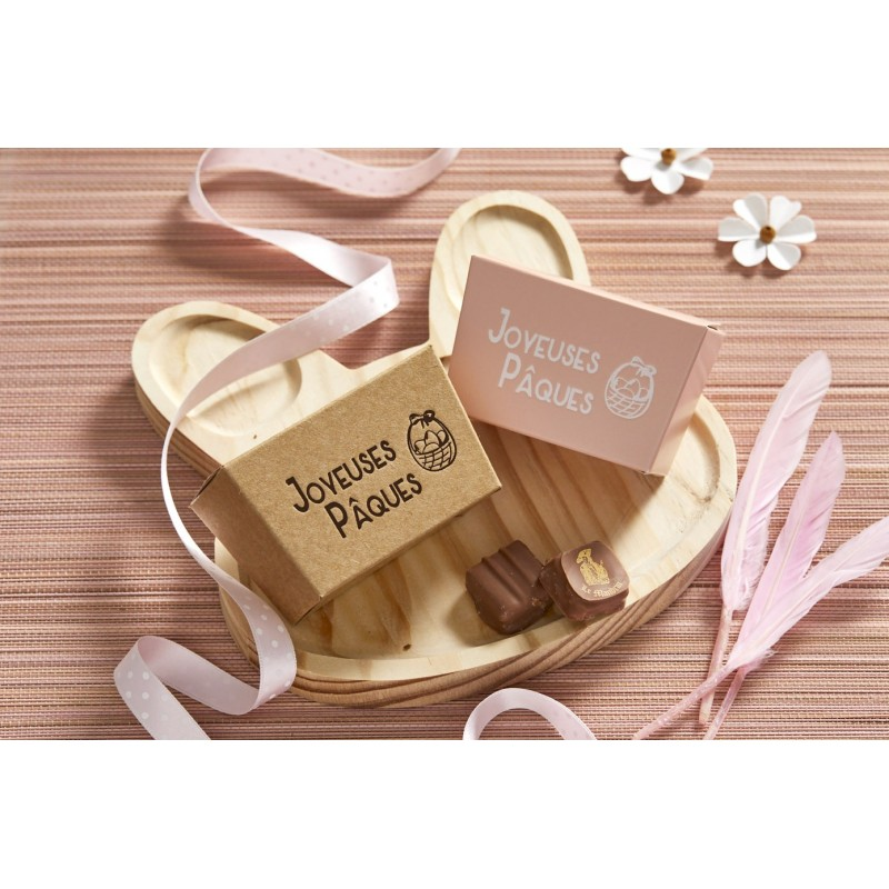 Easter Chocolate boxes in Kraft color