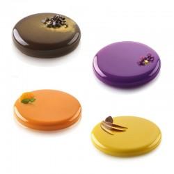 "Dessertformen ""Decor Round"" aus Silikon"