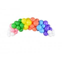 """Girlande von Luftballons """"Regenbogen"""""""