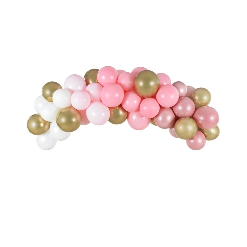 "Garland of balloons ""Pink"""