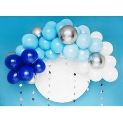 "Garland of balloons ""Blue"""