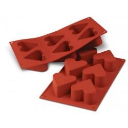 Coeurs 7cm - Moule en silicone