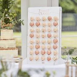 "Display ""Take a Treat"" for 40 Macarons in cardboard"