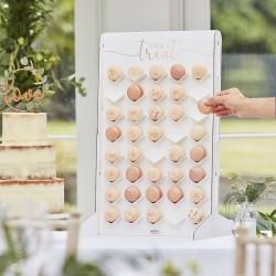"Display ""Take a Treat"" for 40 Macarons in cardboard"