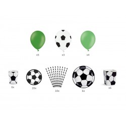 """Box of decorations """"Soccer"""""""
