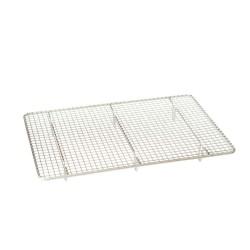 Rectangular cooling rack in non-stick metal