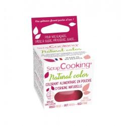 Natürliche Pulverfarbe - Rot