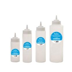 Glasurflaschen mit Ø 4 mm-Ausgiesser aus Kunststoff