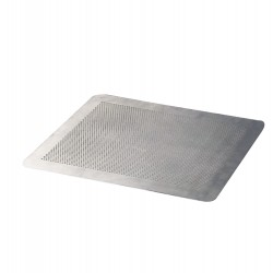 Plaque plate perforée en aluminium - 40x 30 cm