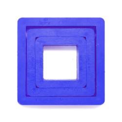 Lot emporte-pièces carrés, emporte-pièce carré, emporte-pièce plastique carré